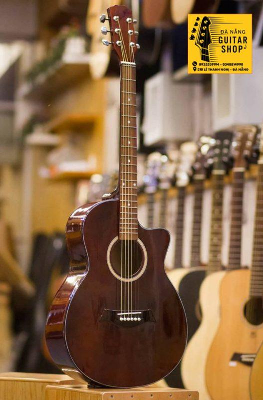 Đàn Guitar Acoustic NT-E12 Gỗ Vân Sam