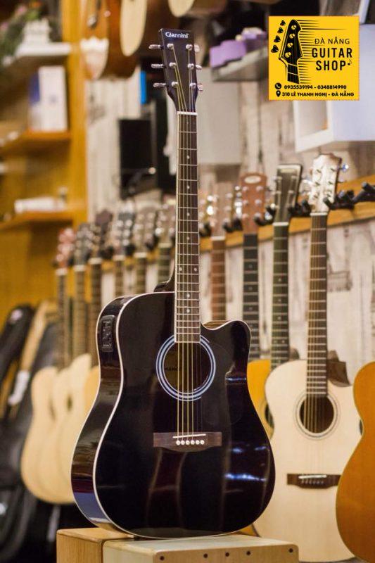 Đàn Guitar Acoustic Giannini EQ Gỗ Vân Sam