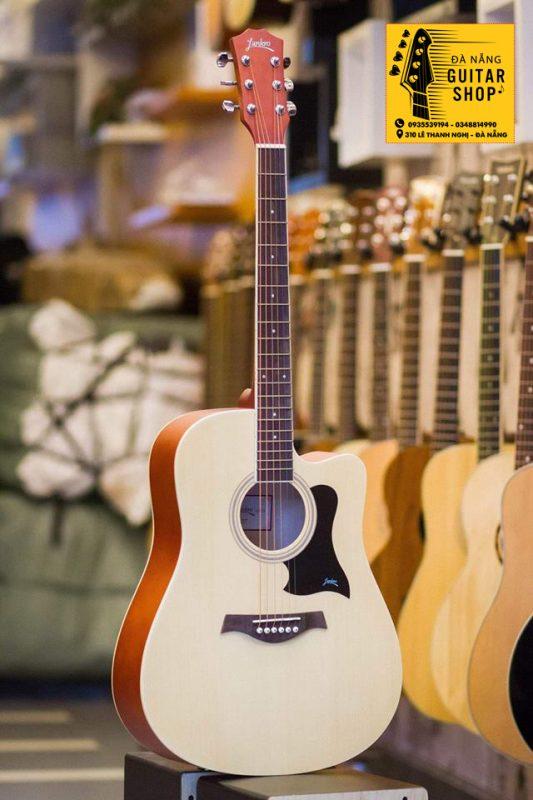 �àn Guitar Acoustic Lankro Gỗ mahogani
