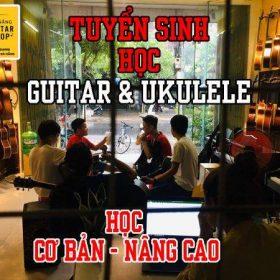 Khoá học guitar miễn phí tại shop